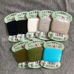 【口コミ&感想】高品質な糸と言えばダルマ家庭糸(手ぬい糸)♪