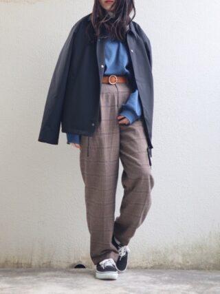 GUメンズを女性がおしゃれに着る!【2021】サイズ感やコーデまとめ